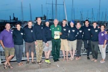Paramedics swim channel for TASC