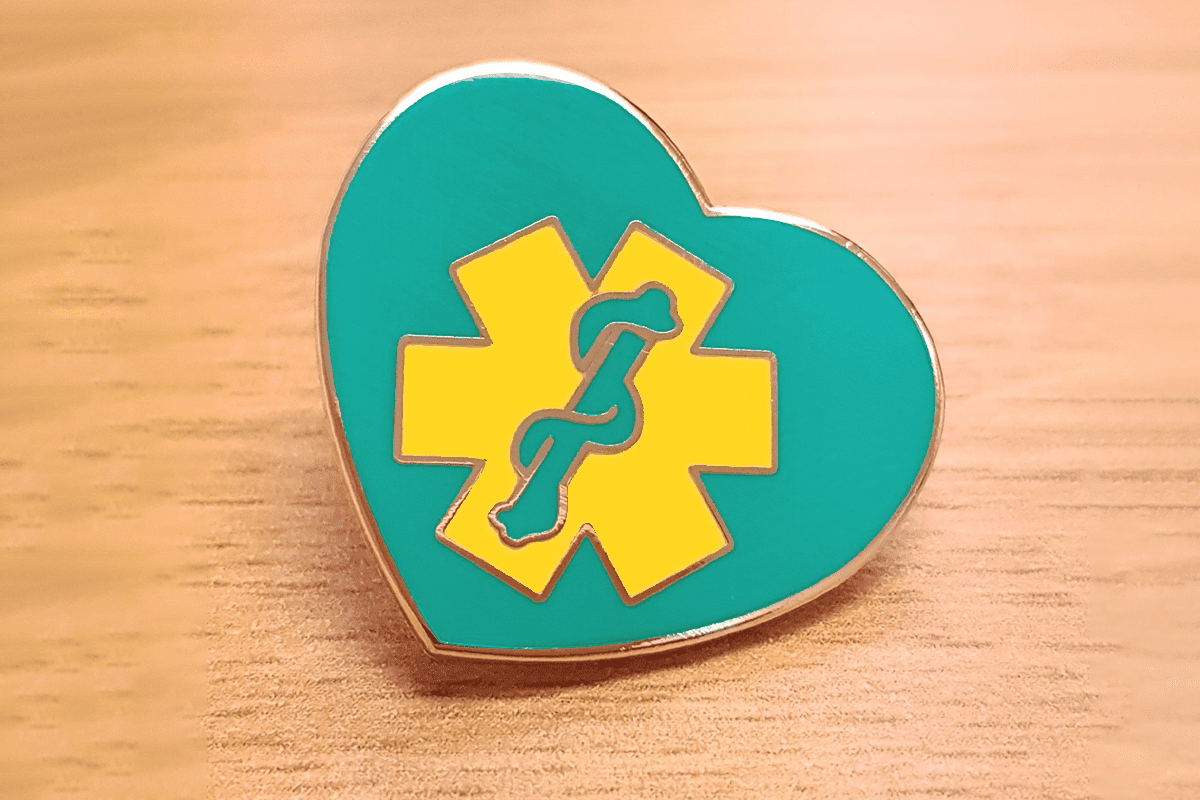 Purchase a pin badge on our online shop and support the UK's ambulance community