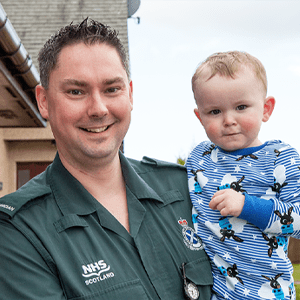 How TASC The Ambulance Staff Charity helped Wayne