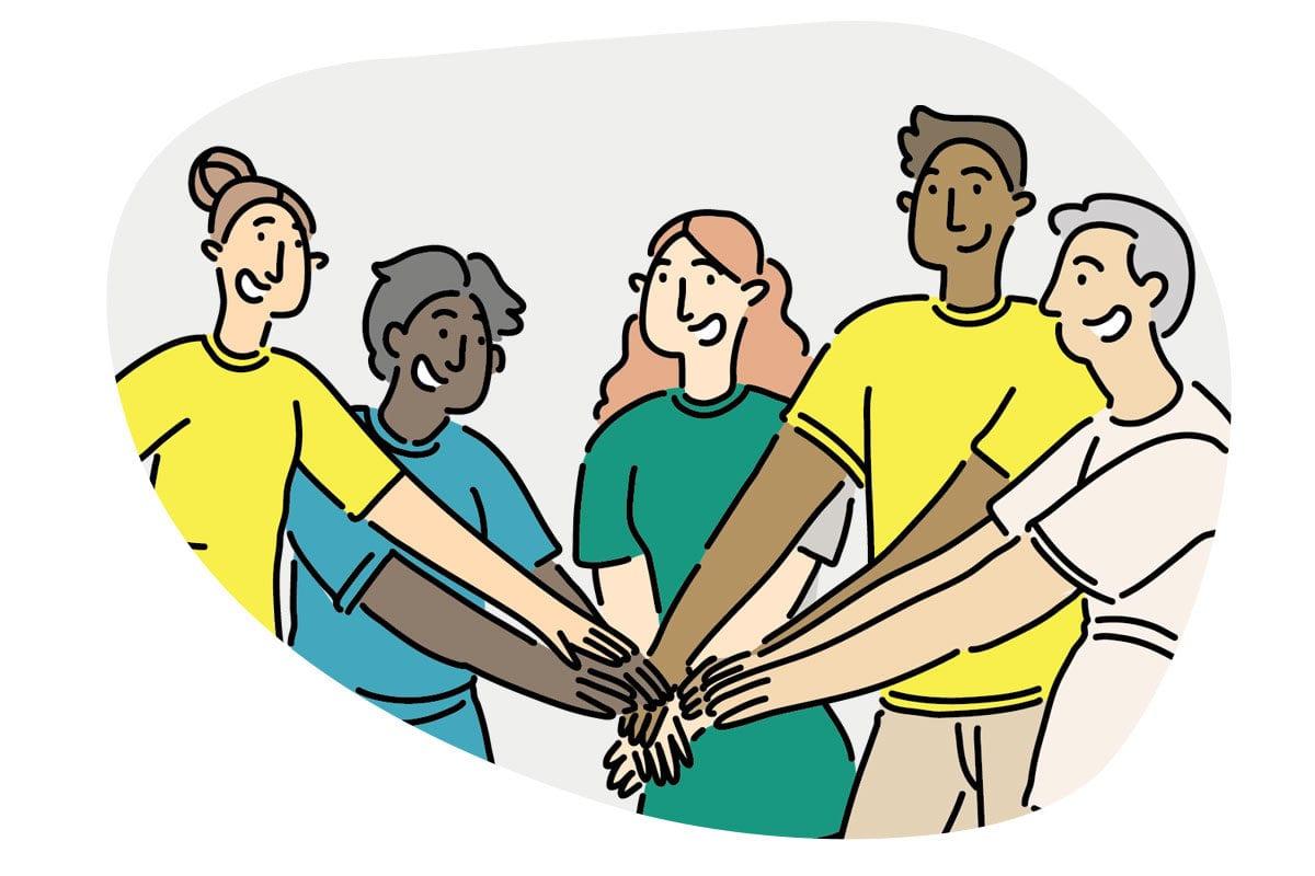 Training our volunteers in peer support