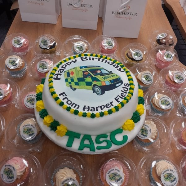 TASC Birthday cake