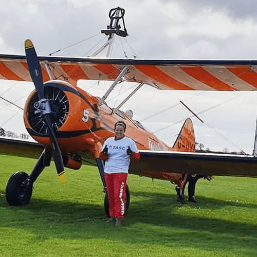 Wing walk for TASC