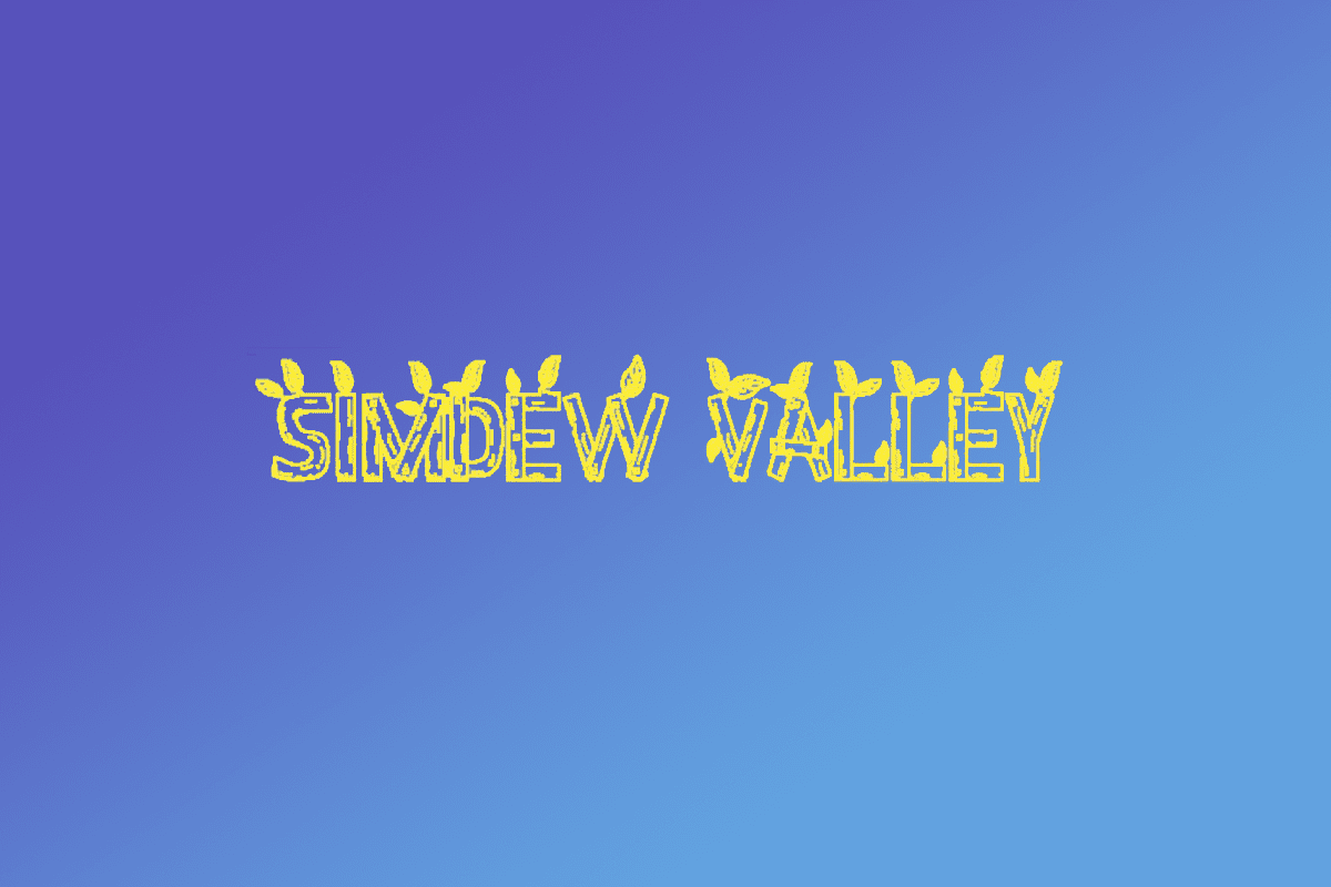 16 streamers create Simdew Valley to raise money for TASC