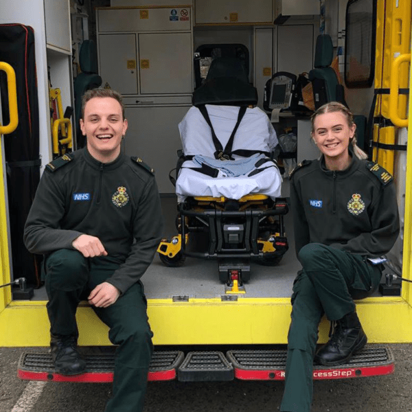 East of England Ambulance staff members team up to take on the world's fastest zipline to raise money for The Ambulance Staff Charity (TASC)