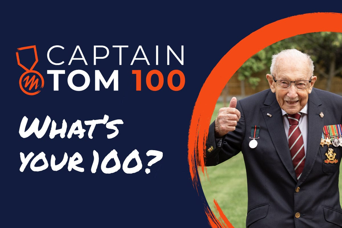 Fundraise for TASC in the Captain Tom 100
