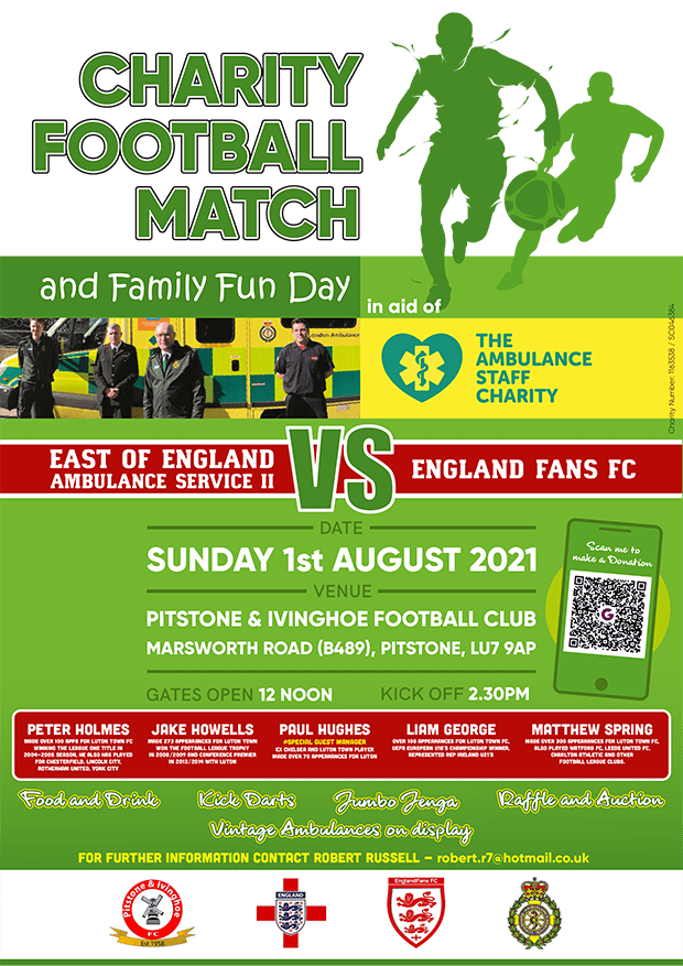 Charity football fun day to raise money for TASC
