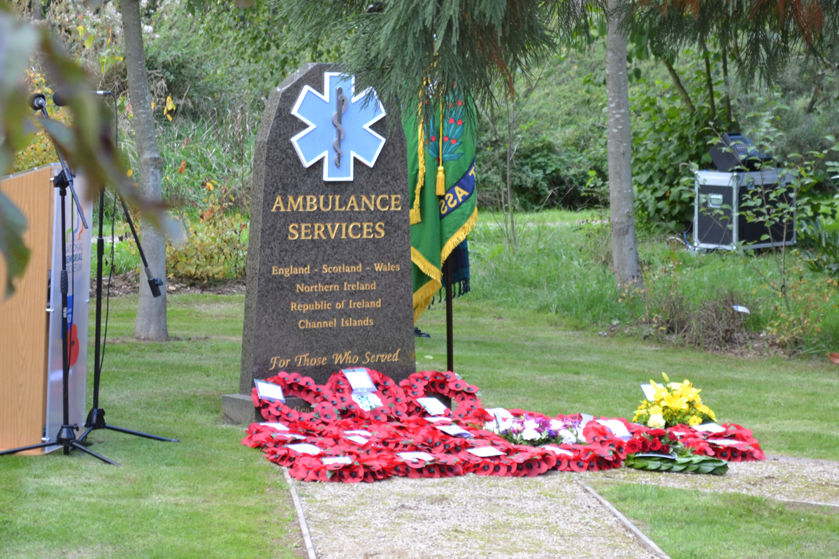 Looking back on the history of The Ambulance Staff Charity's National Ambulance Memorial Service