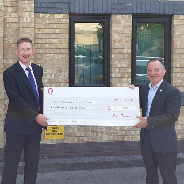 One Broker Ambulance Names TASC Charity of the Year
