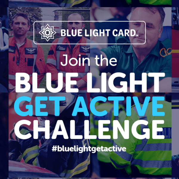 Join the Blue Light Challenge and help raise vital funds for the UK's emergency services workers