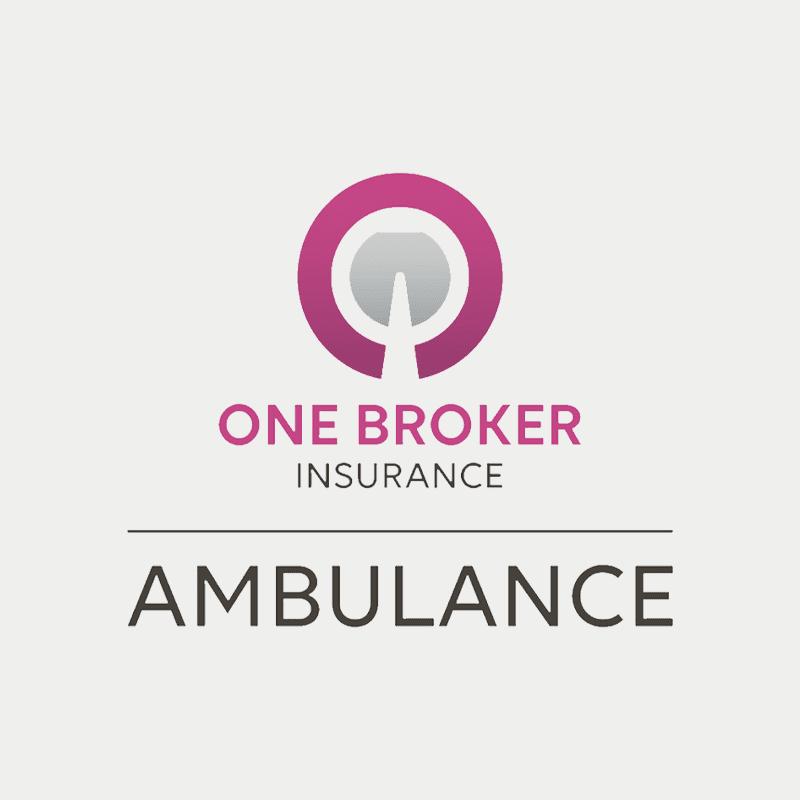 One broker ambulance logo